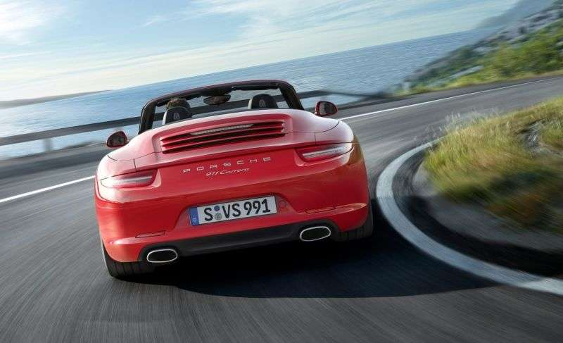 Porsche 911 991Carrera Convertible 4S 3.8 MT Basic (2012 – current century)