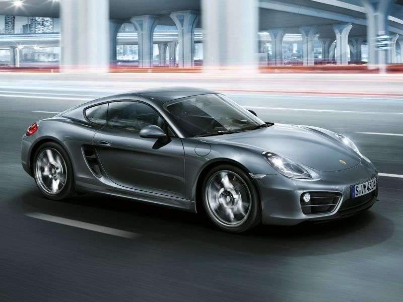 Porsche Cayman 981 Coupé S 3.4 PDK Basic (2012 – current century)