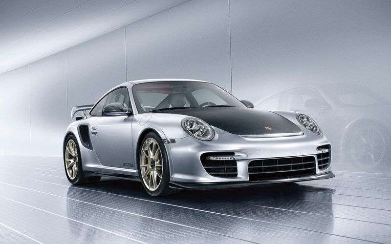 Porsche 911 997 [restyling] GT2 coupe 2 bit. 3.6 MT (2008–2009)