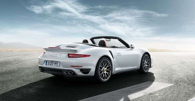 Porsche 911 991Turbo 2 in cabriolet 3.8 PDK AWD Basic (2013 – current century)