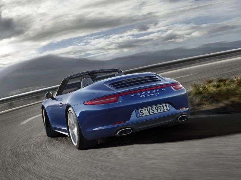 Porsche 911 991Carrera Convertible S 3.8 MT Basic (2012 – n.)