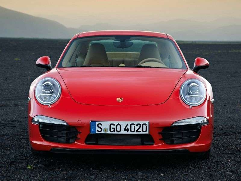 Porsche 911 991Carrera Coupe 2 bit. 50th Anniversary Edition 3.8 PDK Basic (2013 – current century)