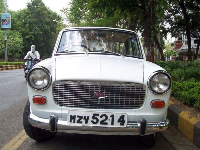 Premier Padmini 1st generation 1.1 MT sedan (1962 – n.)