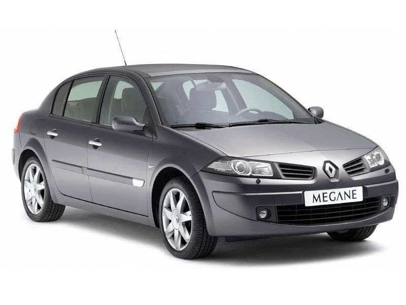 Renault Megane 2nd generation [restyling] 1.6 MT sedan (2006–2008)