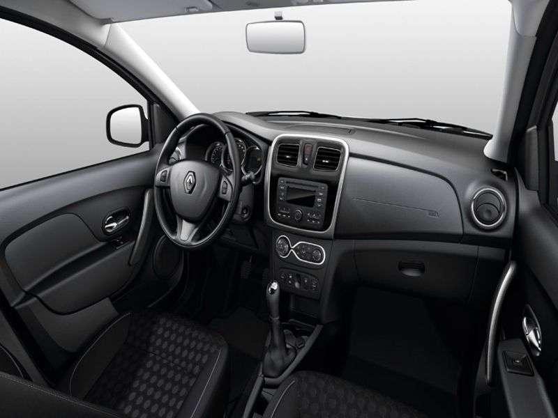 Renault Sandero 2nd generation Stepway hatchback 5 bit. 1.6 MT (2013 – present century)