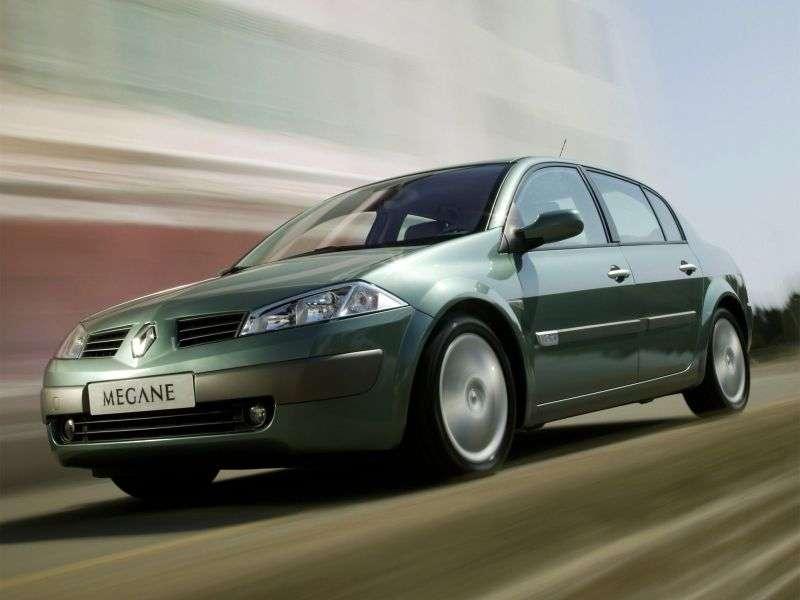 Renault Megane 2nd generation sedan 1.4 MT (2002–2006)