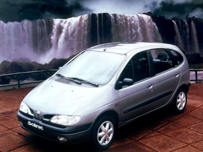 Renault Scenic 1st generation 1.6 MT minivan (1996–1999)