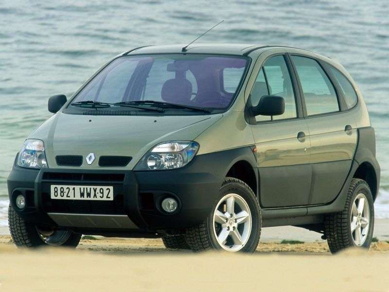 Renault Scenic 1st generation [restyled] RX4 minivan 5 dv. 1.9 dCi MT 4WD (1999–2003)