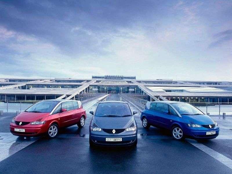 Renault Avantime 1st generation minivan 2.2 dCi MT (2002–2003)