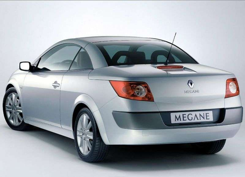 Renault Megane 2nd generation convertible 1.9 dCi MT (2003–2006)
