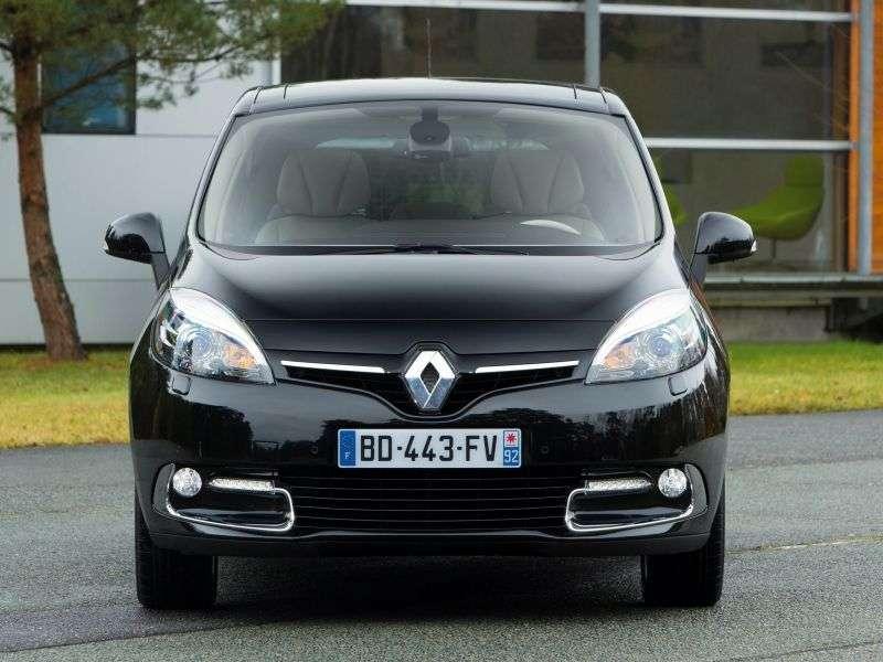 Renault Scenic 3rd generation [2nd restyling] minivan 5 dv. 2.0 CVT Expression (2013 – present)