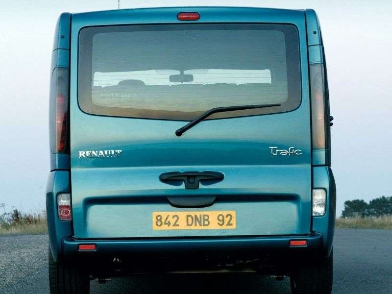 Renault Trafic 2nd generation [restyling] Minibus 2.0 MT L2H1 (9 seats) Authentique (2006 – n.)