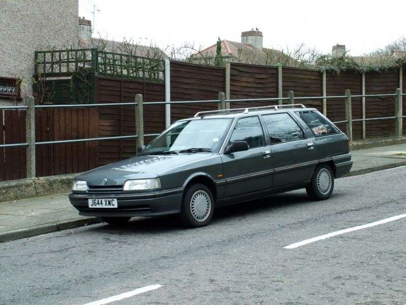 Renault 21 1st generation [restyled] Savanna wagon 2.2 MT (1989–1995)