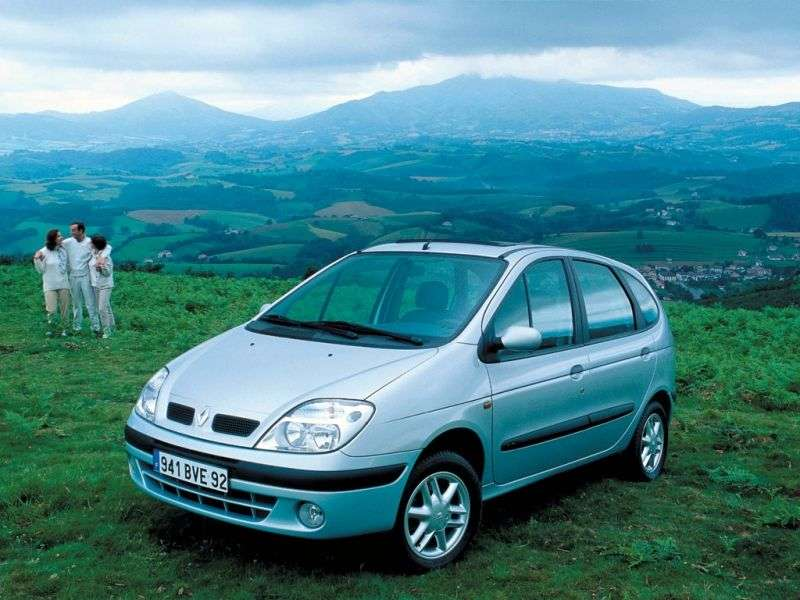 Renault Scenic 1st generation [restyled] minivan 5 dv. 1.9 dTi AT (1999–2003)