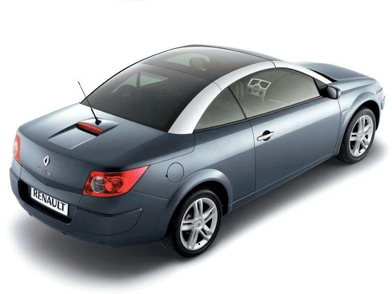 Renault Megane 2nd generation [restyling] 2.0 dCi MT convertible (2006–2009)