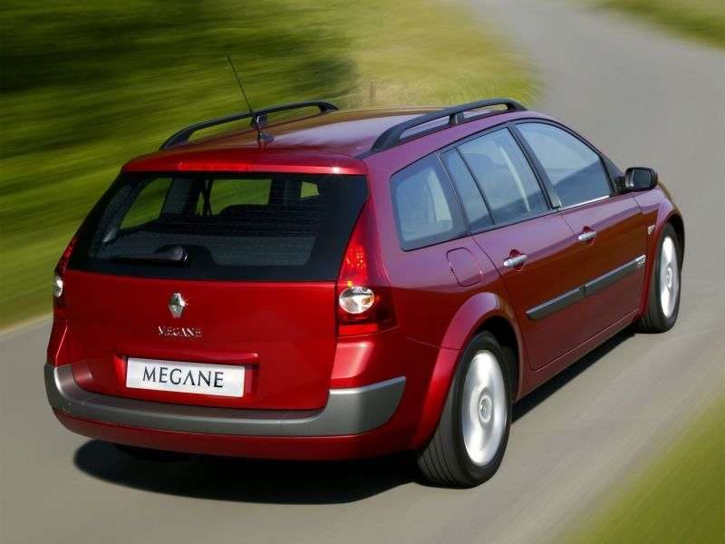 Renault Megane 2nd generation wagon 1.5 dCi MT (2004–2006)
