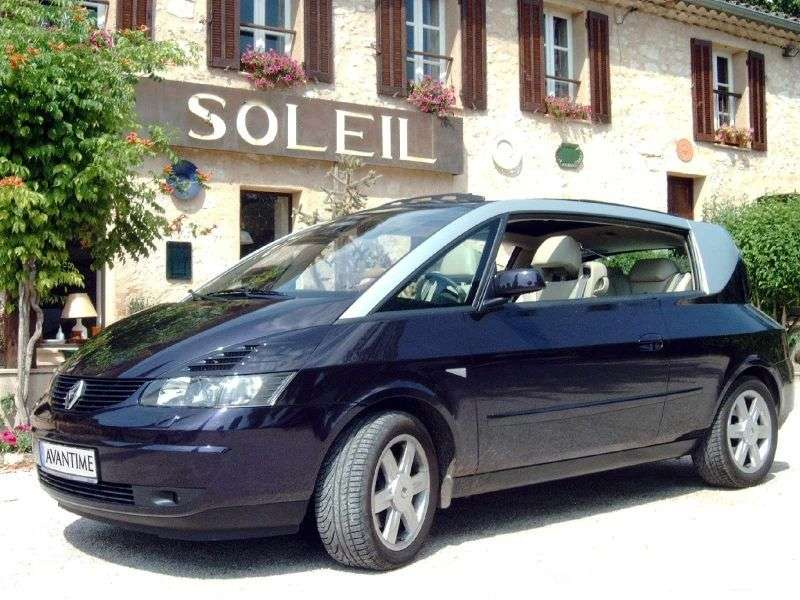 Renault Avantime 1st generation minivan 3.0 AT (2001–2003)