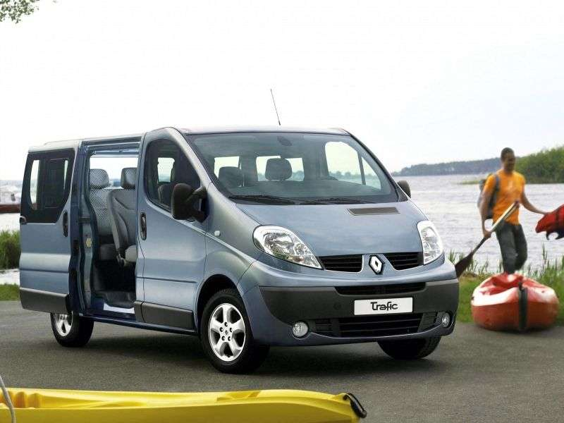 Renault Trafic 2nd generation [restyling] Minibus 2.0 MT L1H1 (8 seats) Privilege (2006 – n. In.)