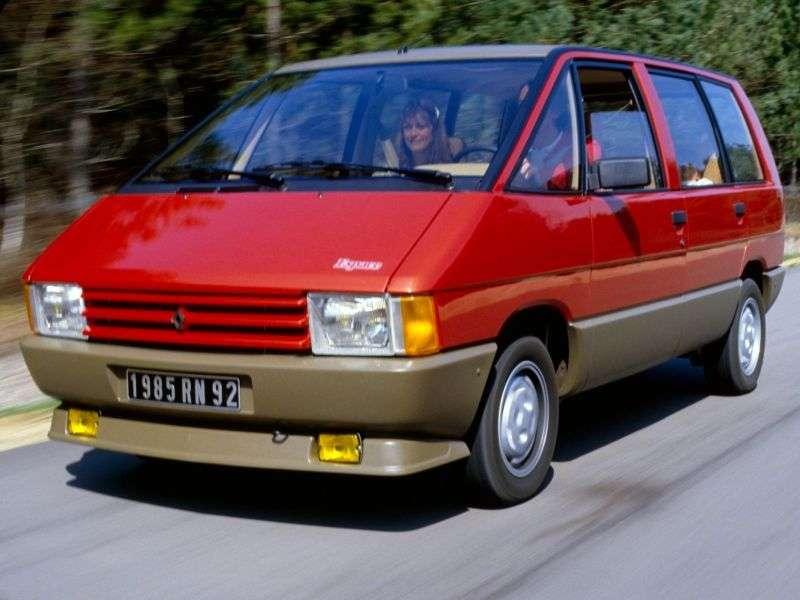 Renault Espace 1st generation 2.2 MT minivan (1984–1988)