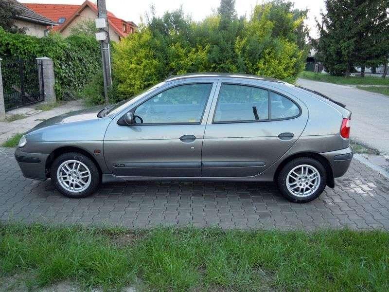 Renault Megane 1st generation [restyled] hatchback 1.9 dCi AT (1999–2002)