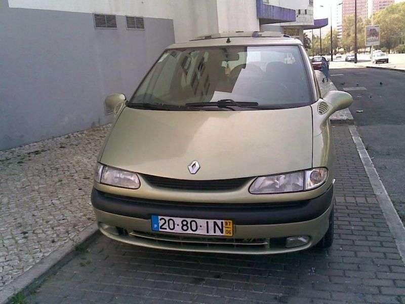 Renault Espace 3 generation minivan 2.0 MT (1999–2002)