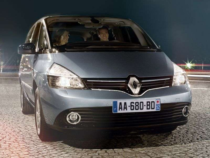 Renault Espace 4th generation [2nd restyling] minivan 2.0 TSi MT (2012 – n.)