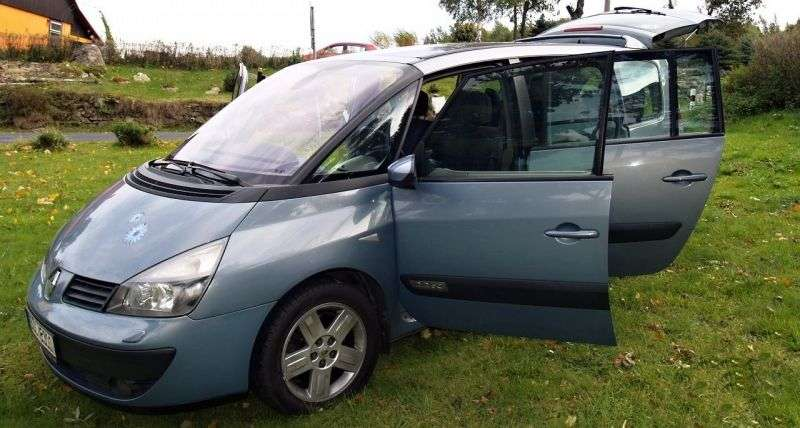 Renault Espace 4th generation Grand 2.2 dCi MT minivan (2003–2006)