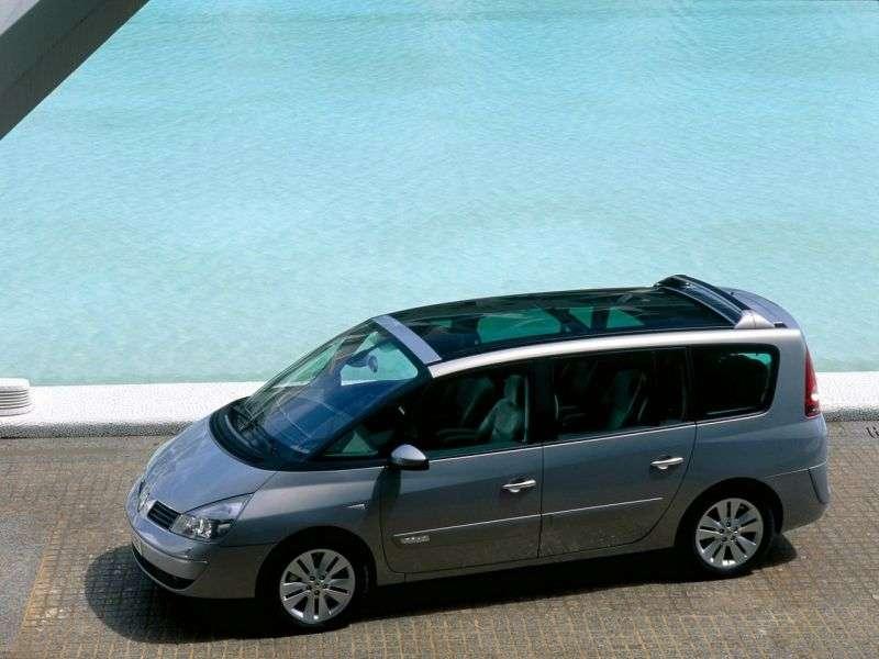 Renault Espace 4 generation Grand minivan 3.0 dCi MT (2003–2006)
