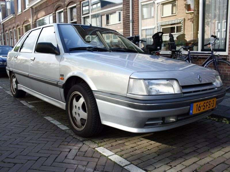 Renault 21 1st generation [restyled] hatchback 2.0 MT (1989–1994)