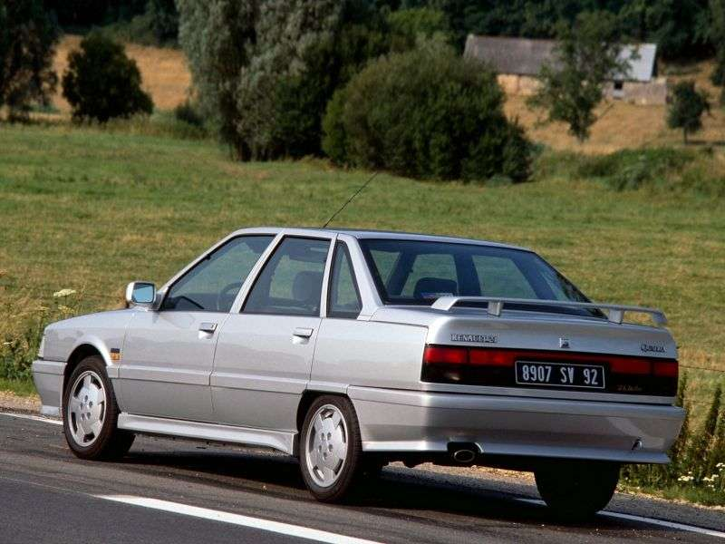 Renault 21 1st generation [restyled] sedan 1.9 D MT (1989–1994)