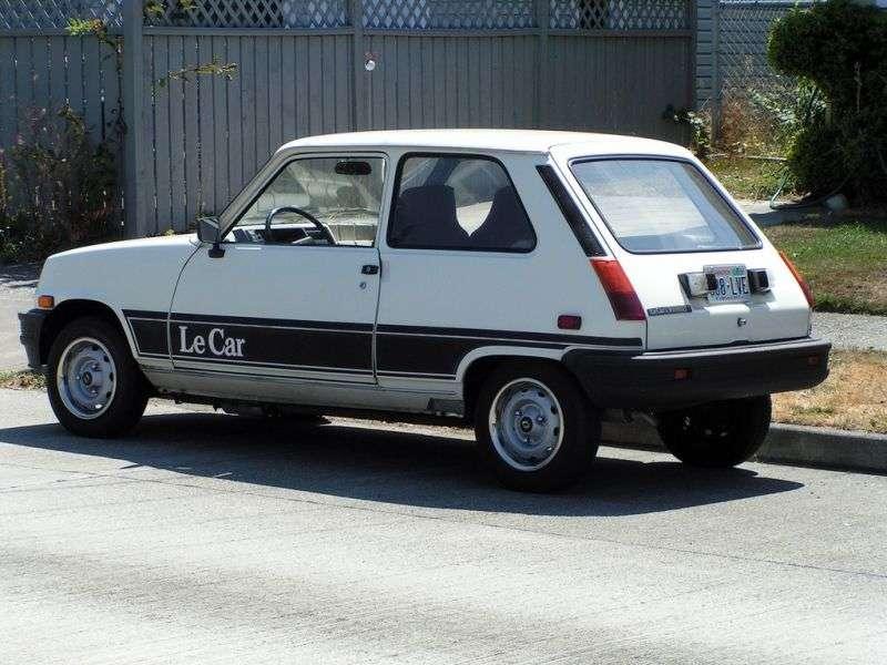 Renault Le Car 1st generation [restyled] hatchback 1.3 MT (1980–1984)