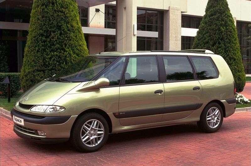 Renault Espace 3rd generation Grand 2.2 dCi MT minivan (2000–2002)