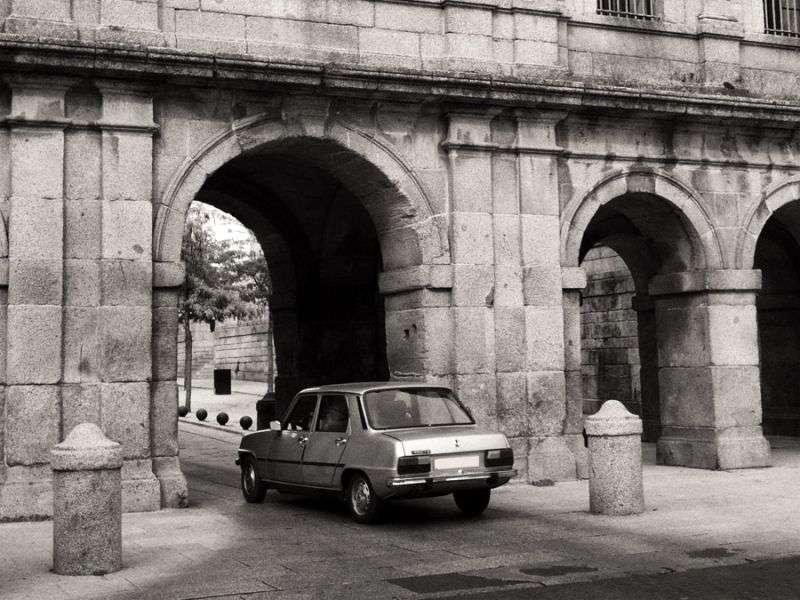 Renault 7 1st generation 1.1 MT sedan (1974–1984)