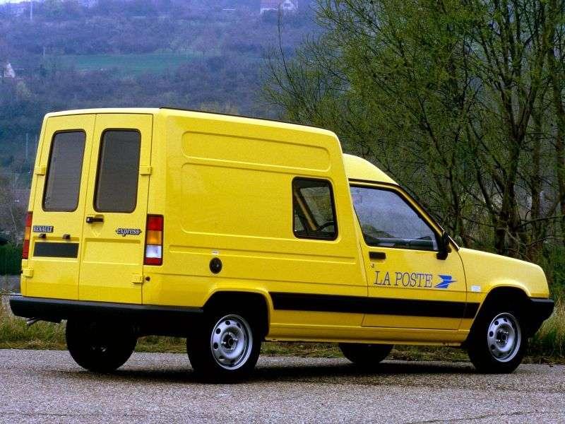 Renault Express 1st generation van 1.1 5MT (1985–1991)