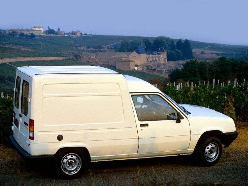 Renault Express 1st generation van 1.6 D 5MT (1985–1991)