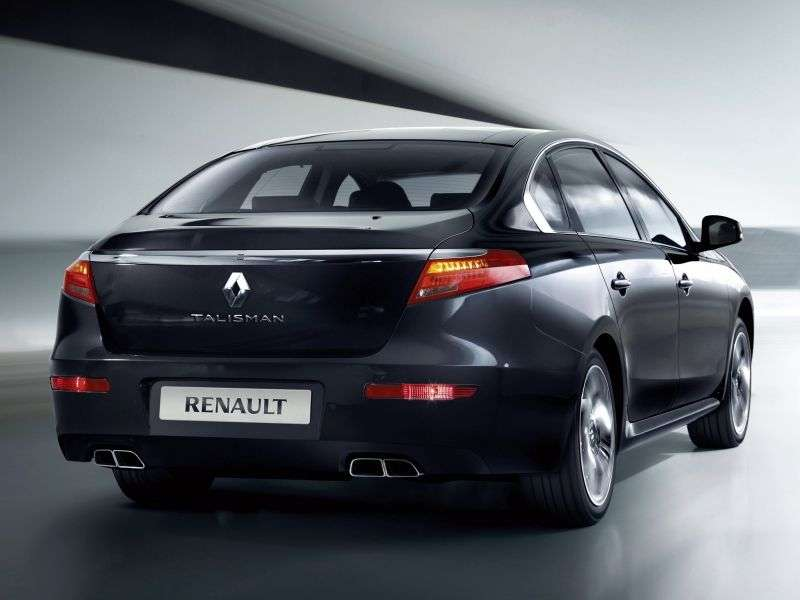 Renault Talisman 1st generation sedan 3.5 AT (2012 – n. In.)