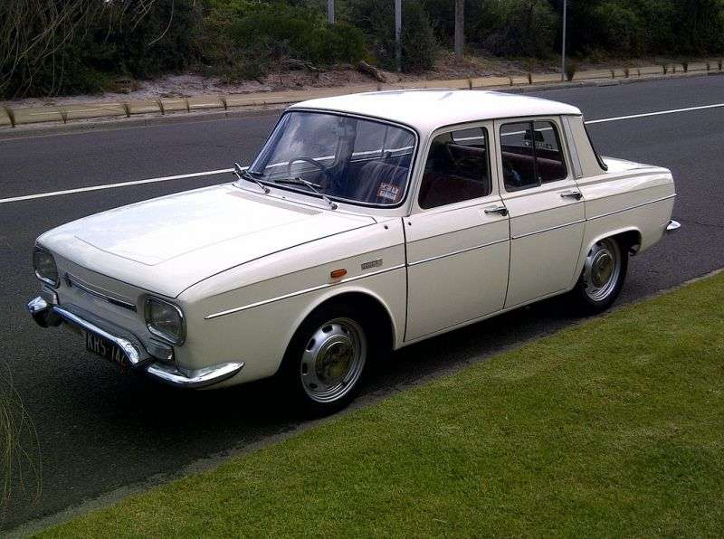 Renault 10 1st generation [restyled] sedan 1.3 MT (1970–1971)