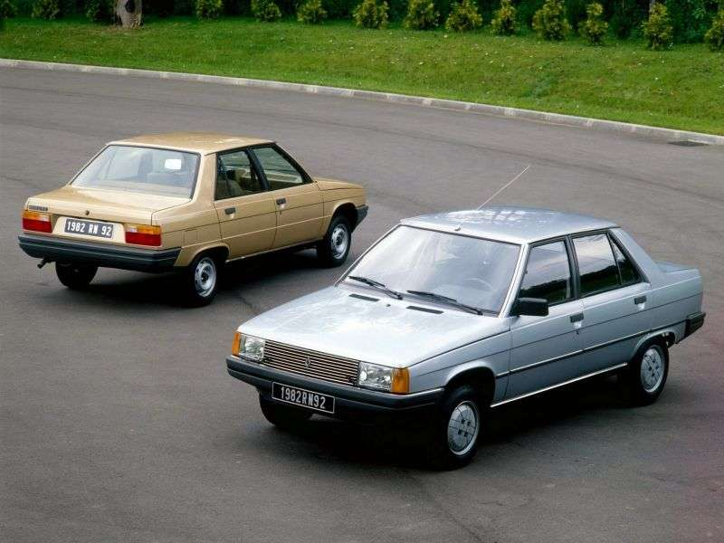 Renault 9 1st generation 1.4 MT sedan (1981–1986)