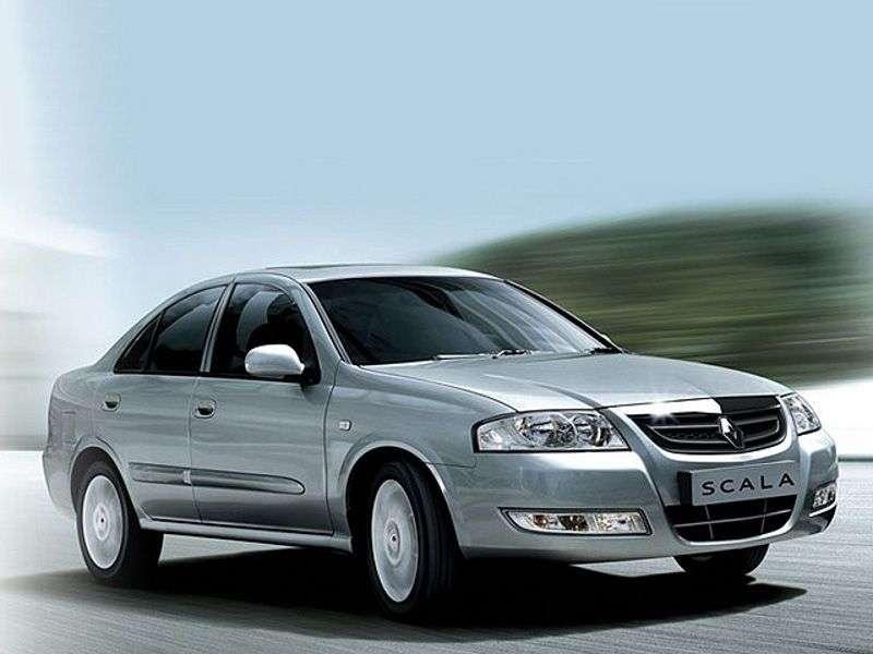 Renault Scala 1.generacji Family sedan 1.6 MT (2010 obecnie)