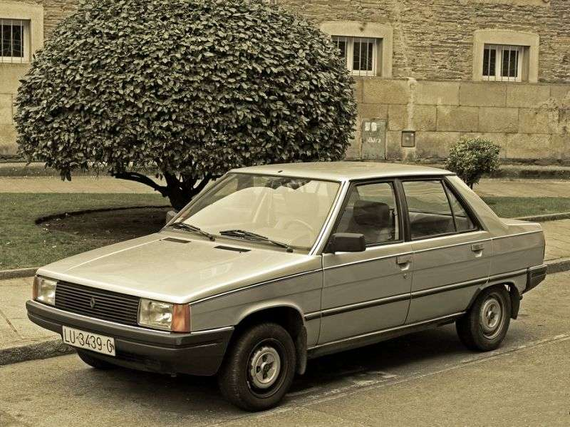 Renault 9 1st generation sedan 1.4 5MT (1981–1986)