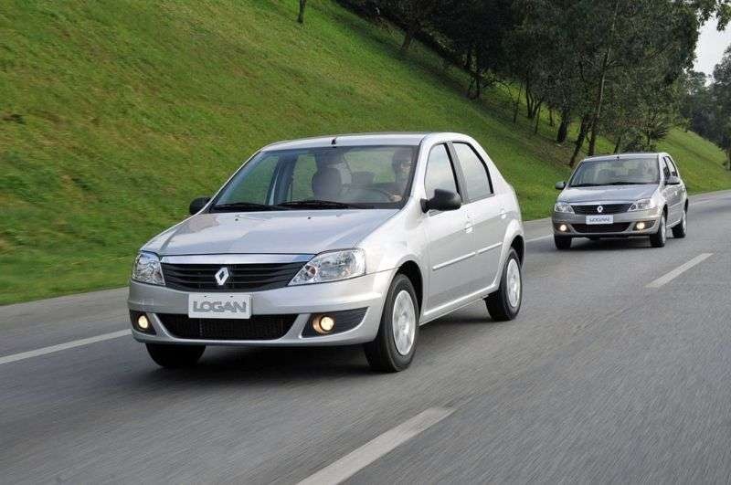 Renault Logan 1st generation [restyled] sedan 1.6 AT Expression (2012) (2009 – n.)