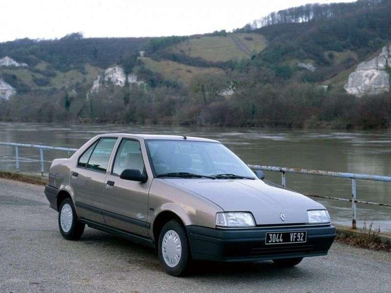 Renault 19 1st generation Chamade sedan 1.4 MT (1989–1992)