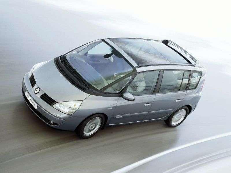 Renault Espace 4 generation minivan 2.2 dCi AT (2002–2006)