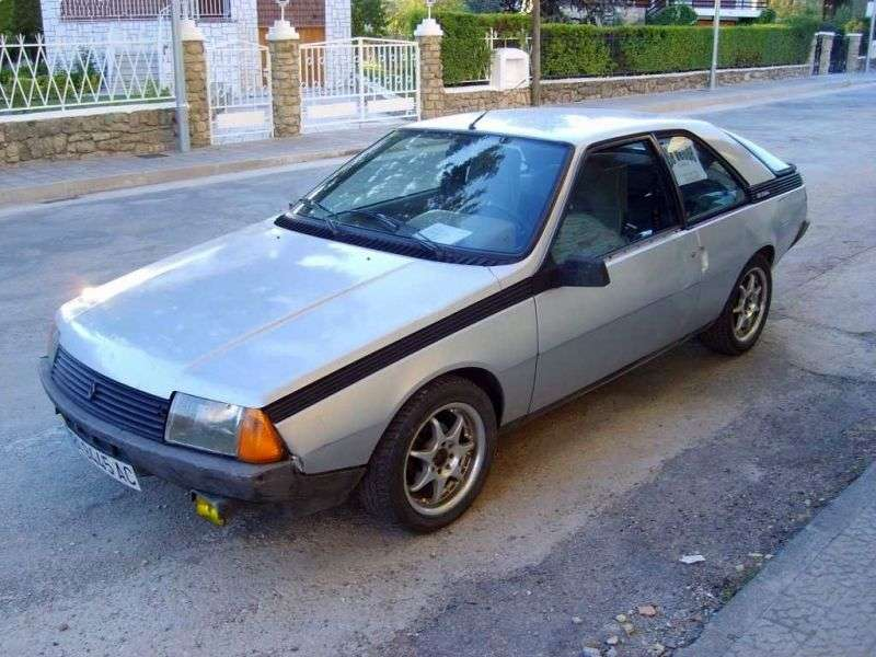 Renault Fuego 1st generation 1.4 MT coupe (1980–1985)
