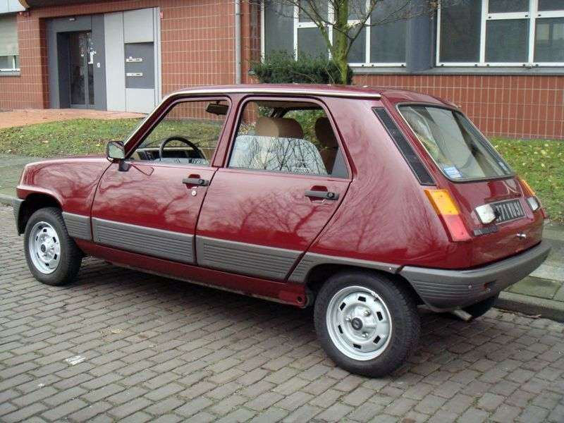 Renault 5 1st generation hatchback 5 dv. 0.8 MT (1980–1981)