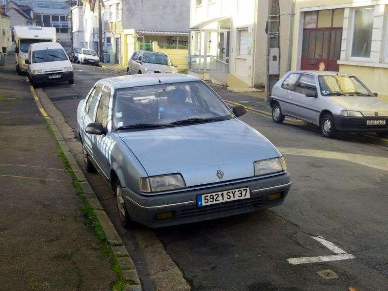 Renault 19 1st generation Chamade sedan 1.7 MT (1989–1992)