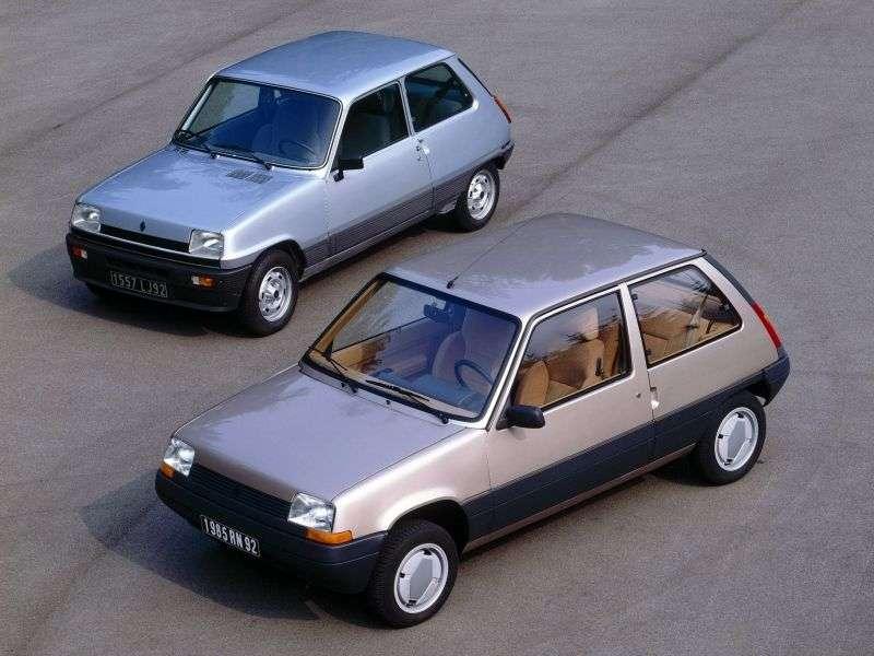 Renault 5 Supercinqhetchbek 3 dv. 1.4 MT (1984 1988)