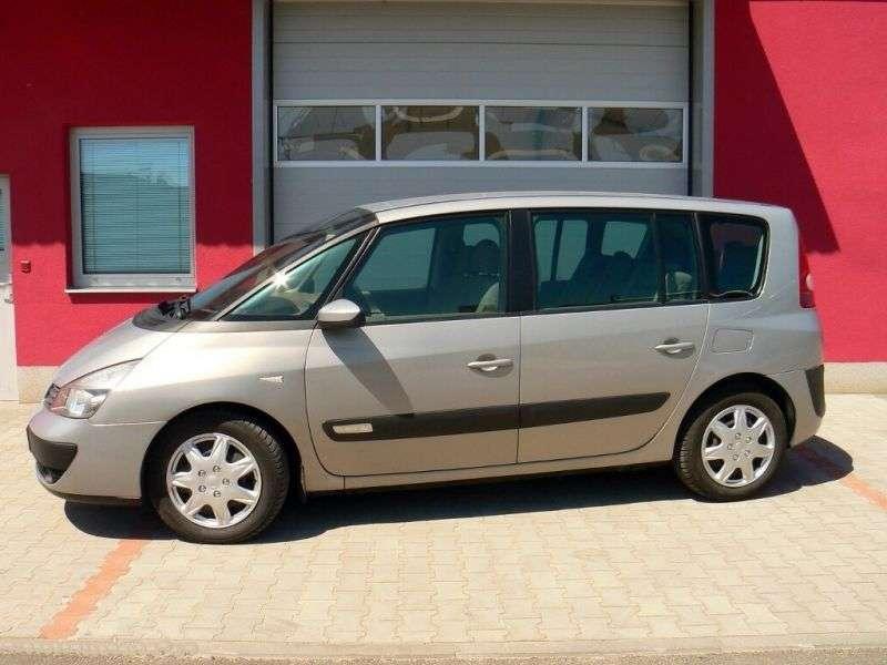 Renault Espace 4 generation minivan 2.2 dCi MT (2002–2006)