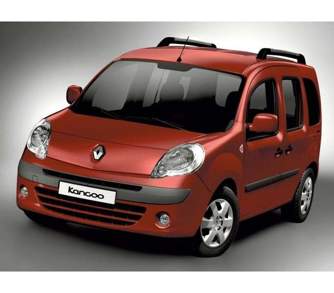 Renault Kangoo 2nd generation Passenger minivan 1.6 MT Authentique (2013) (2007 – n.)