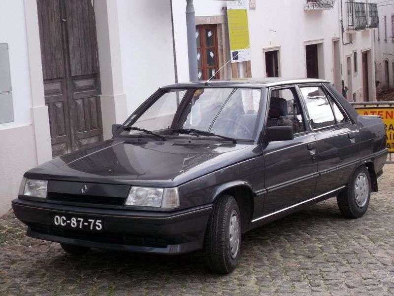 Renault 9 2nd generation sedan 1.2 MT (1986–1988)